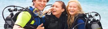 SPORT attrezzature per subacquei e corsi (vendita al dettaglio)